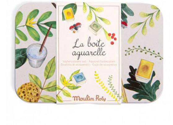 Boîte aquarelles - Moulin Roty