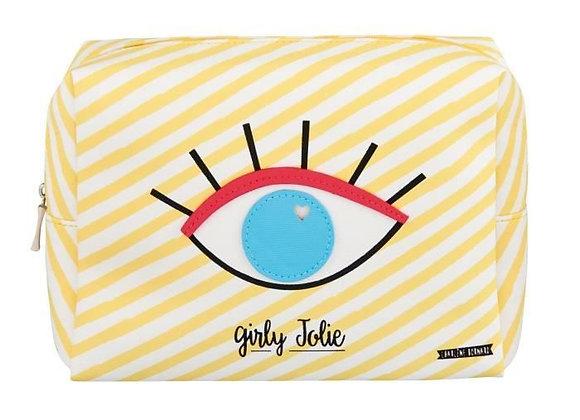 Trousse de Toilette GIRLY JOLIE Jaune - DLP