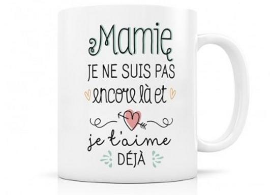 Mug mamie annonce naissance