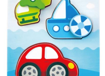 Hape Dynamic véhicules puzzle