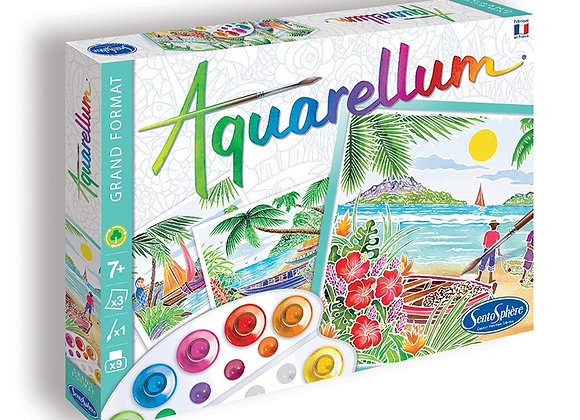 Aquarellum grand paysages tropicaux