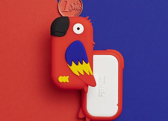Money walkie perroquet