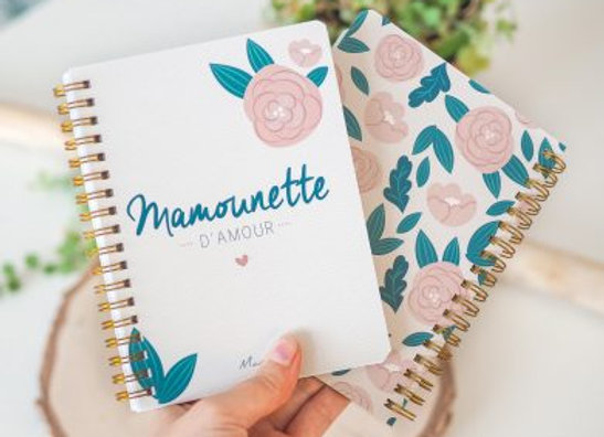 Joli carnet « Mamounette d'amour »