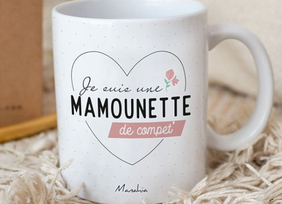 Le mug Mamounette de compet