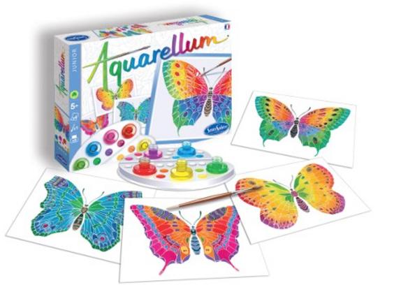 aquarelles papillon