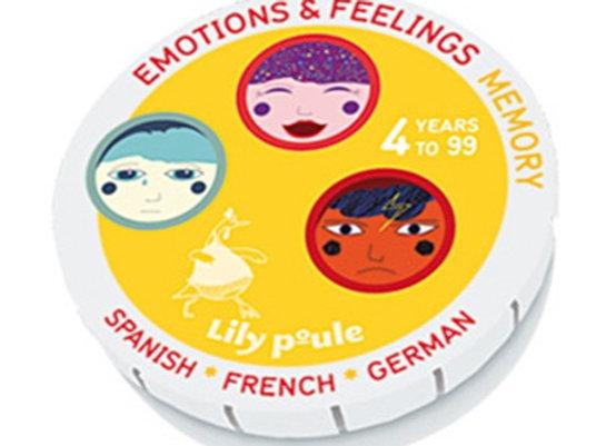 Emotions et feelings mémory - Lily Poule
