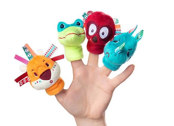 marionnettes à doigtsJungle-Lilliputiens