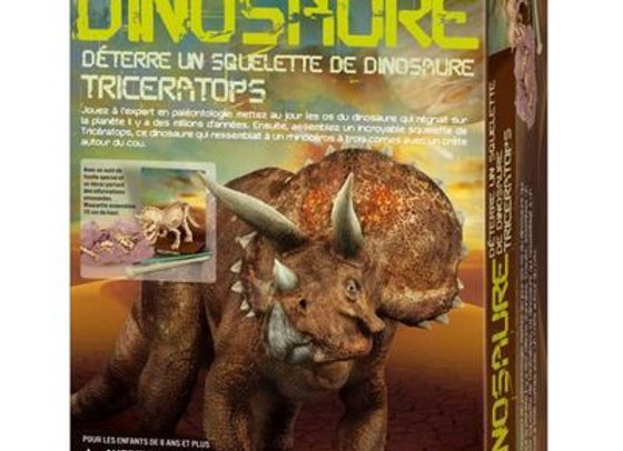 Déterre ton dinosaure- Triceratops