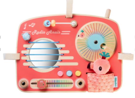Tableau d'activités  radio Anais bois