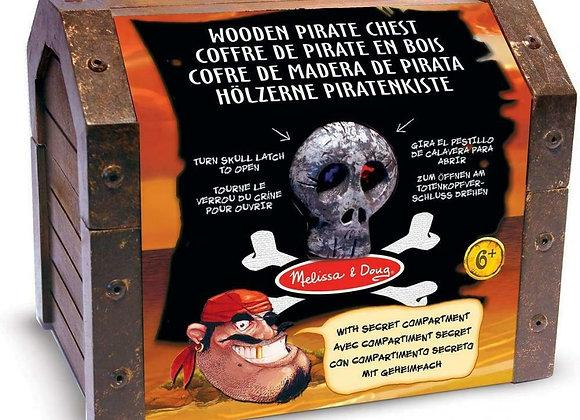 Coffre de pirates en bois avec accessoires - MELISSA AND DOUG
