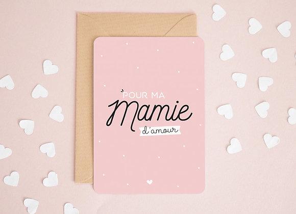 Carte mamie
