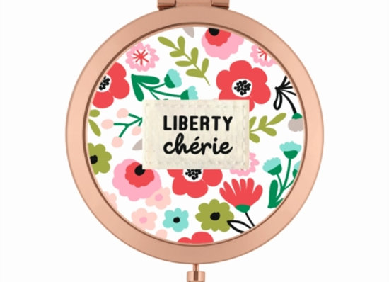 Miroir de poche Liberty chérie
