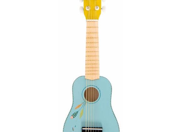 guitare enfant Le Voyage d'Olga de la marque Moulin Roty.