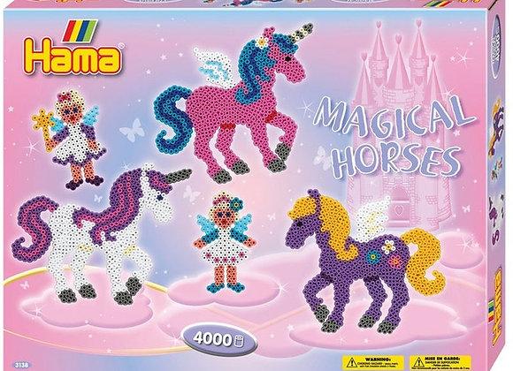 """""""les chevaux magiques """" - HAMA"""