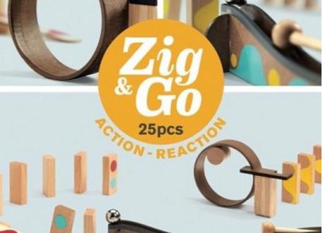Circuit billes Zig and Go 25 pièces