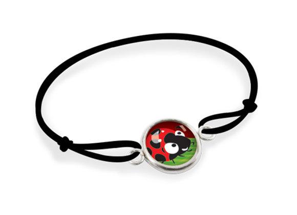 Bracelet Les Minis  - coccinelle