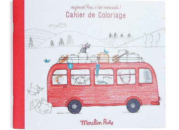 CAHIER DE COLORIAGE - MOULIN ROTY