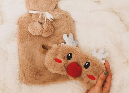 coffret bouillotte et masque Rudolph - La chaise longue