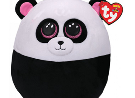 Coussin Ty Squish a Boos Bamboo le panda