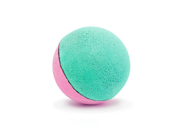 Boule de bain duo : rose + lagon