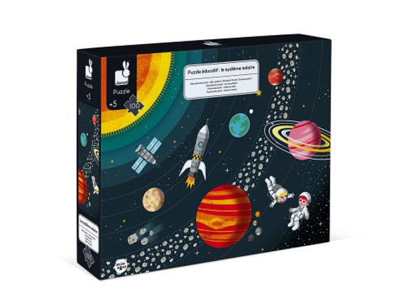 Puzzle système solaire - 100 pièces