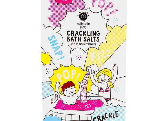 Sels de bain crépitants roses