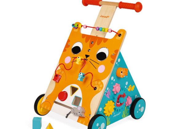 chariot en bois multi-activités