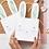 Thumbnail: Pochettes cadeaux motif lapins - Lot de 8