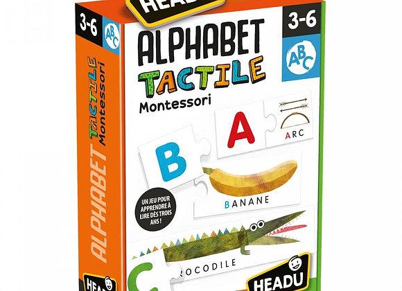 HEADU - Alphabet Tactile Montessori