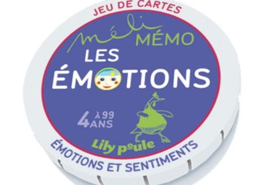 Memory sur les emotions - Lily Poule