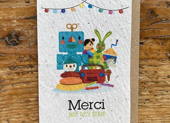 Carte merci jouets