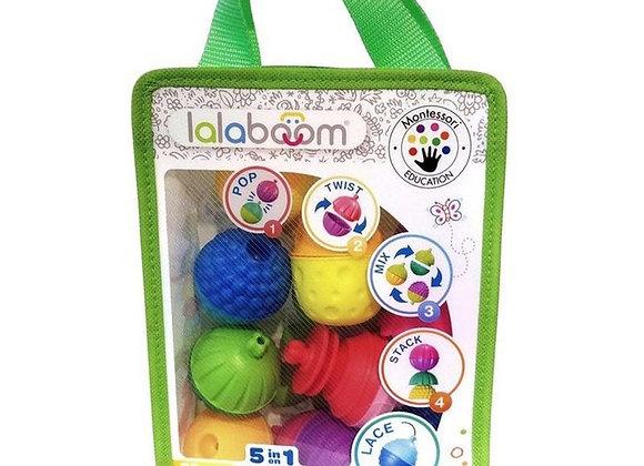 Sac de perles éducatives 28 pièces - Lalaboom