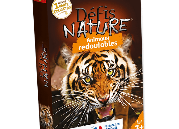 DDÉFIS NATURE - ANIMAUX REDOUTABLES