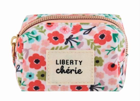 Trousse à essentiels Liberty chérie