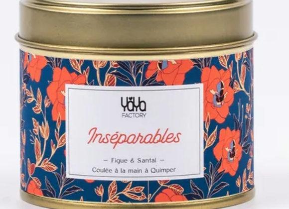 "Yaya factory - Bougie ""inséparables """