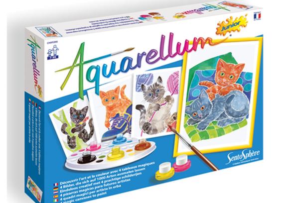 """Aquarellum Junior """"Chatons"""""""
