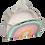 Thumbnail: Lunch bag isotherme arc en ciel paillettes