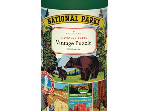 Puzzle parcs nationaux americains