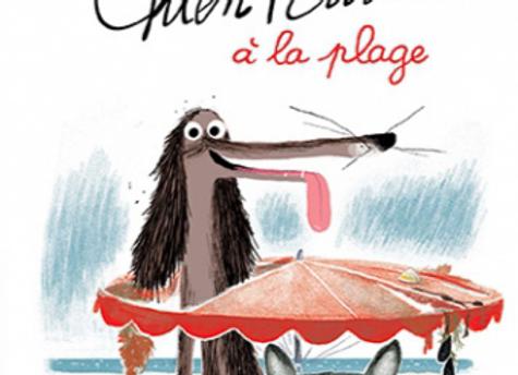 Livre Chien Pourri à la plage