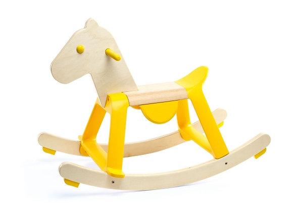 cheval à bascule en bois de Djeco