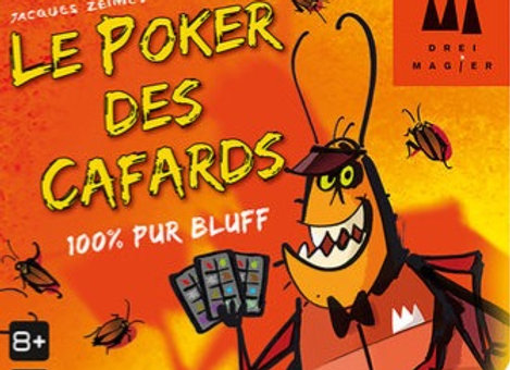 Le poker des cafards - Gigamic