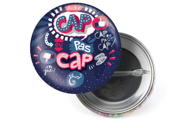 "Badge ""Cap ou pas cap ?"""