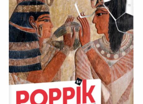 POPPIK - PUZZLE DE 70 STICKERS  ÉGYPTE ANTIQUE