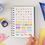 Thumbnail: Agenda semainier -chaque jour est une fête