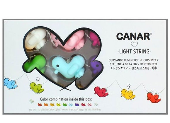 Guirlande Canard rainbow