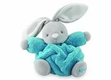 Mini lapin néon Plume  bleu - Kaloo