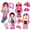 Thumbnail: Montessori My Little Dolls HEADU- Âge: 2-5