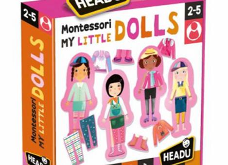 Montessori My Little Dolls HEADU- Âge: 2-5