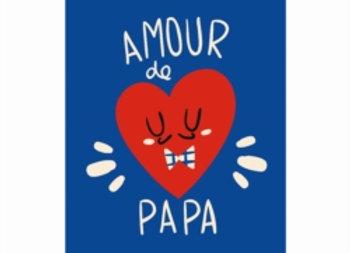 Magnet  Amour de papa