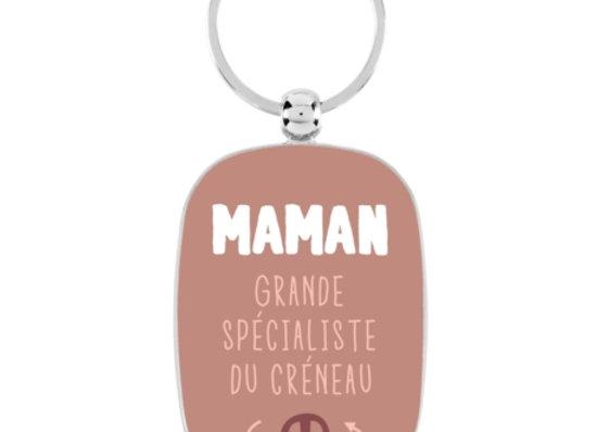 Porte clef maman créneaux